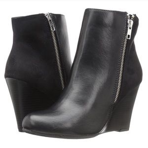 Report Russo wedge zipper rocker booties